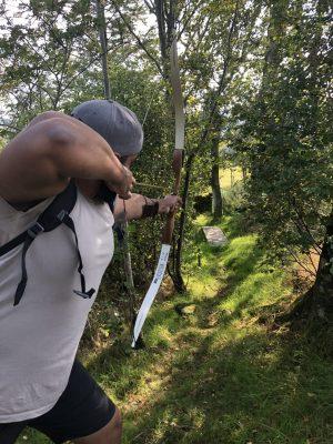 Field Archery - Keswick Climbing Wall 1